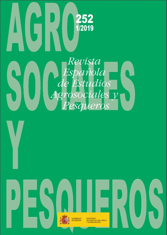 Cubierta de Revista Española de Estudios Agrosociales y Pesqueros