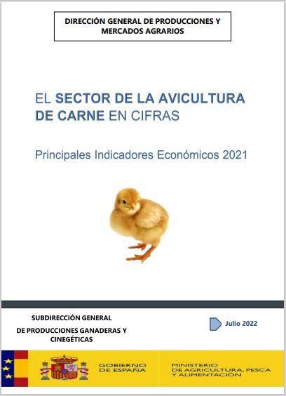 Cubierta de El Sector de la Avicultura de Carne en Cifras. Principales Indicadores Económicos