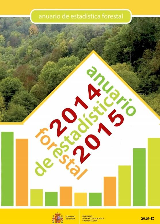 Cubierta de Anuario de Estadística Forestal