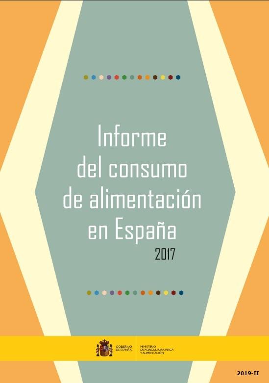 Cubierta de Informe del consumo de alimentación en España