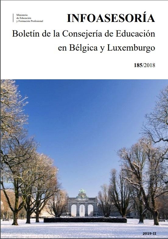 Cubierta de Infoasesoría : Boletín de Información sobre la Enseñanza del Español en Bélgica, Países Bajos y Luxemburgo