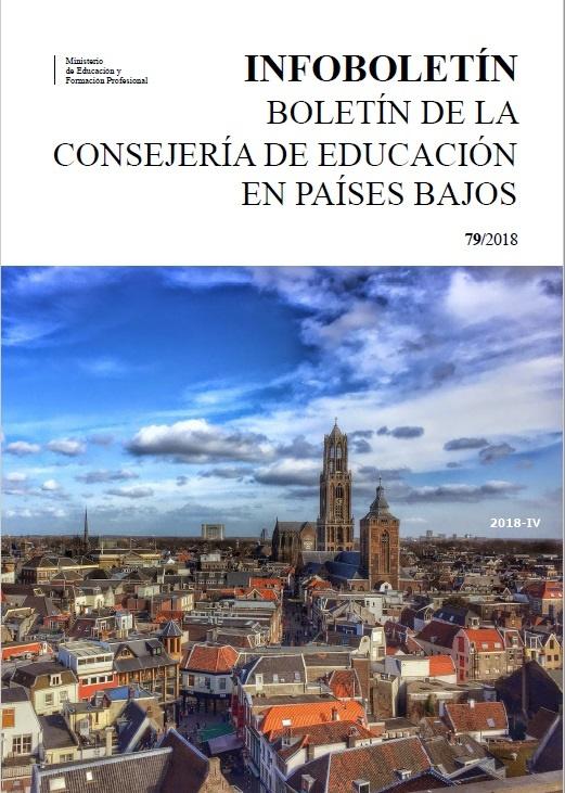 Cubierta de Infoboletín : Boletín de la Consejería de Educación en Países Bajos
