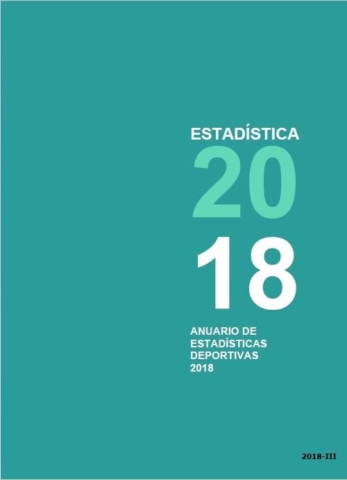 Cubierta de Anuario de Estadísticas Deportivas