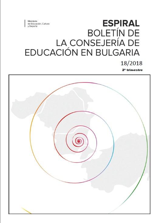 Cubierta de Espiral : Boletín de la Consejería de Educación en Bulgaria