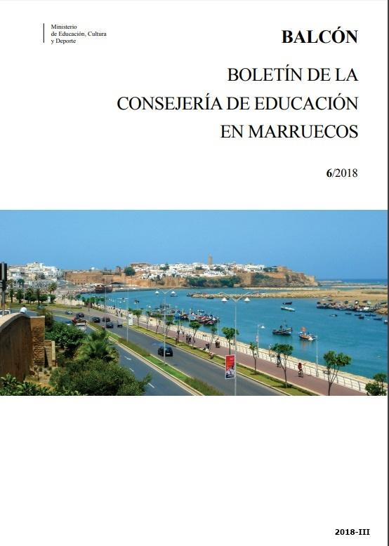 Cubierta de Balcón : Boletín de la Consejería de Educación en Marruecos