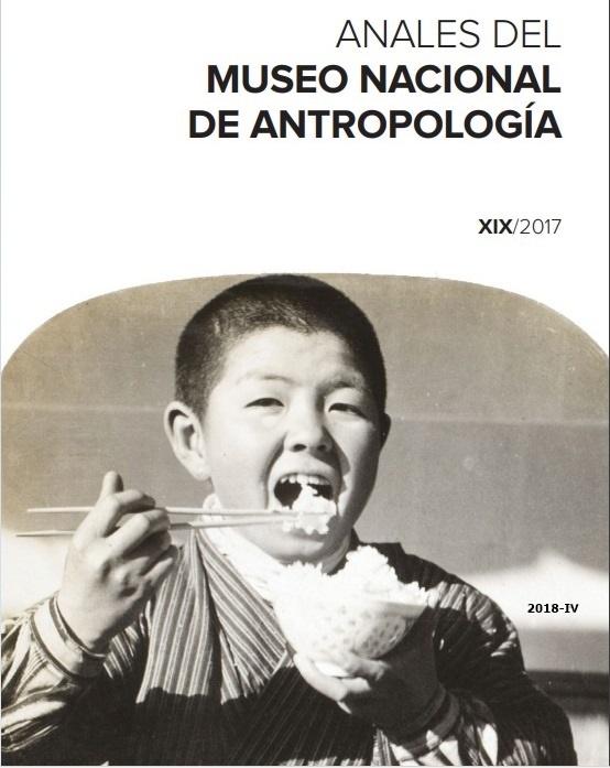 Cubierta de Anales del Museo Nacional de Antropología