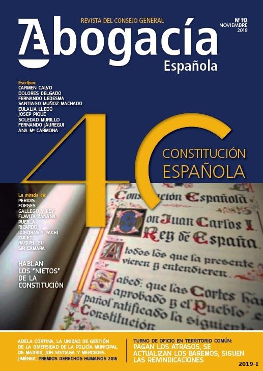 Cubierta de Abogacía española
