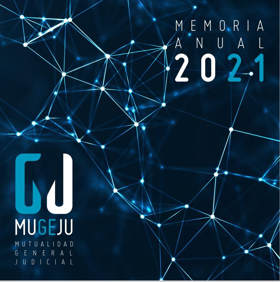 Cubierta de Memoria Anual de la Mutualidad General Judicial