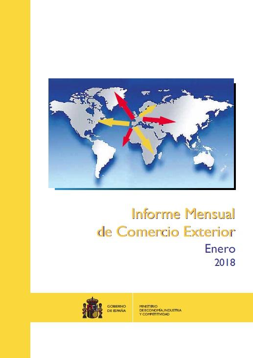 Cubierta de Informe Mensual de Comercio Exterior