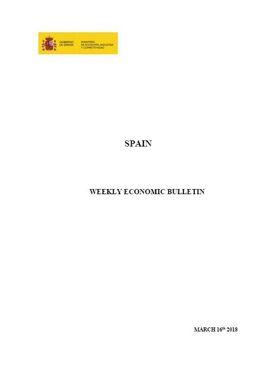 Cubierta de Weekly Economic Bulletin