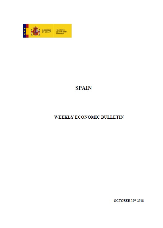 Cubierta de Weekly Economic Bulletin