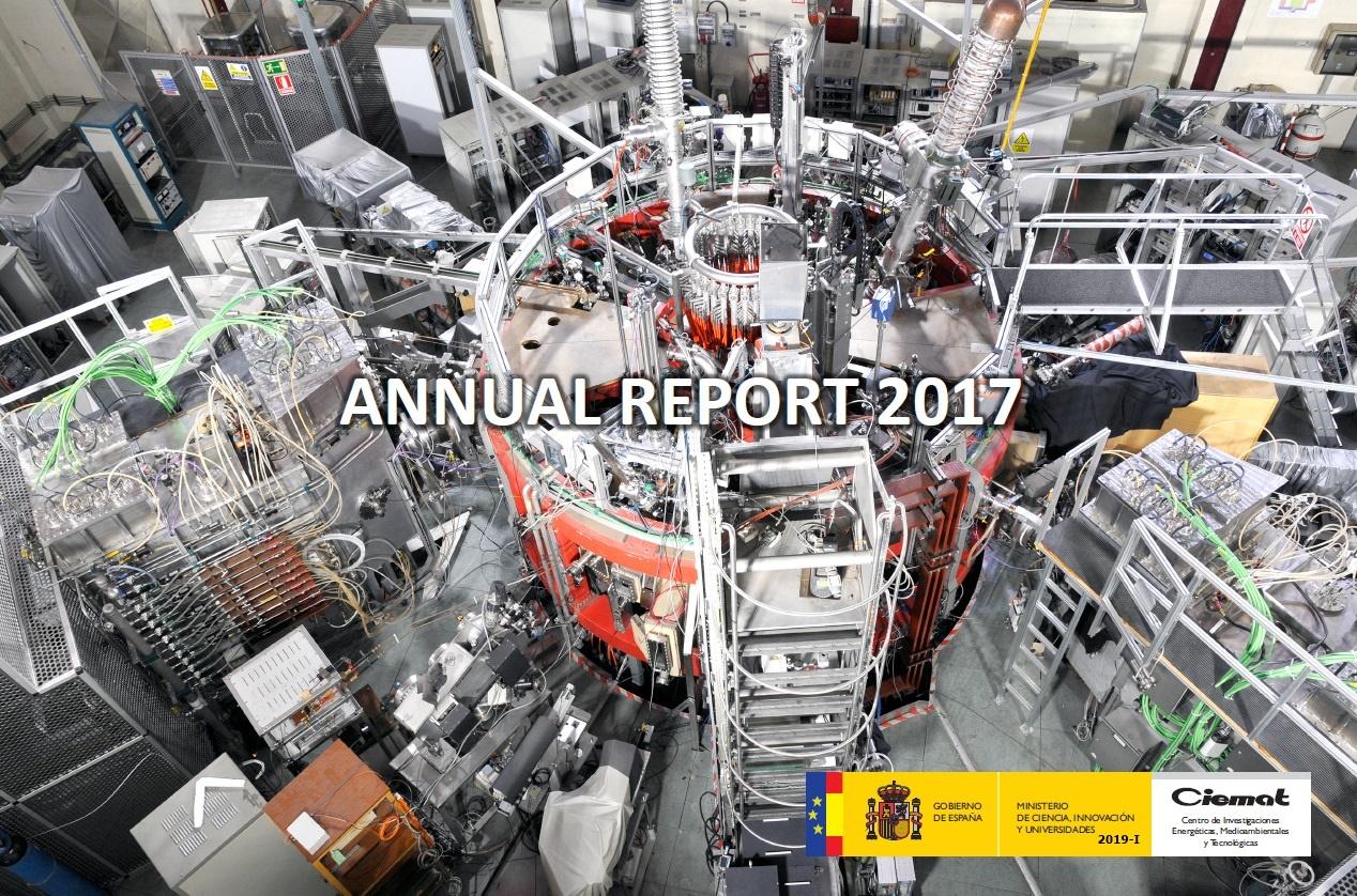 Cubierta de Annual Report Ciemat