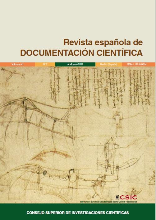 Cubierta de Revista Española de Documentación Científica