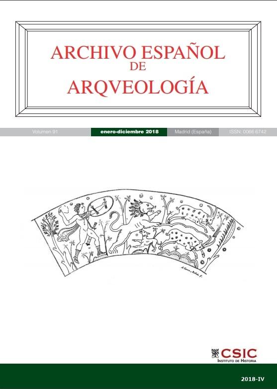 Cubierta de Archivo Español de Arqueología