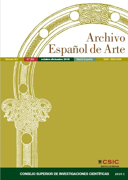Cubierta de Archivo Español de Arte