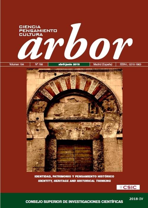 Cubierta de Arbor : Ciencia, Pensamiento y Cultura