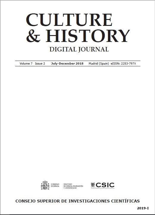 Cubierta de Culture & History : Digital Journal