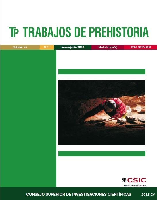 Cubierta de Trabajos de Prehistoria