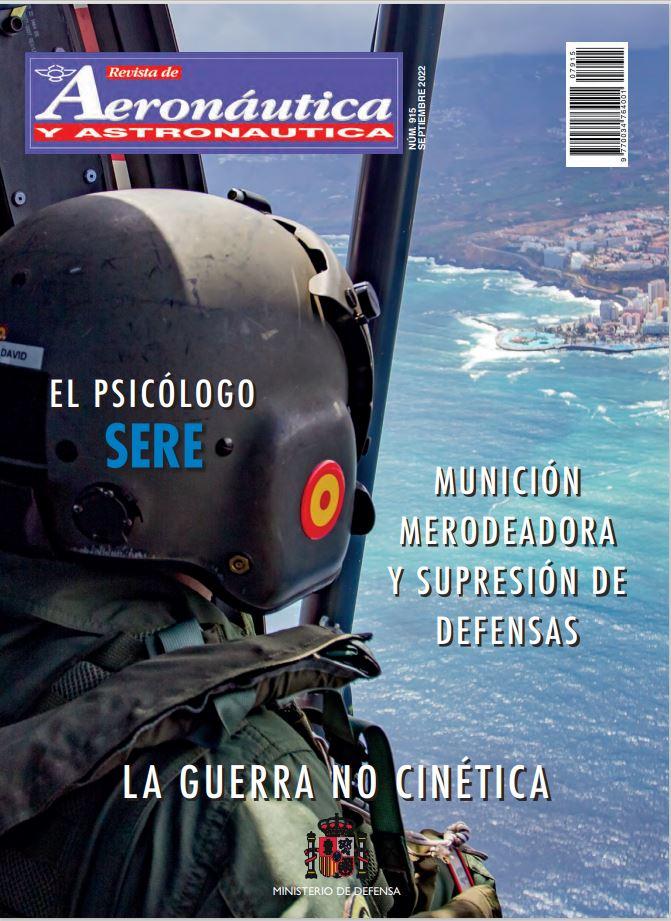 Cubierta de Revista de Aeronáutica y Astronáutica