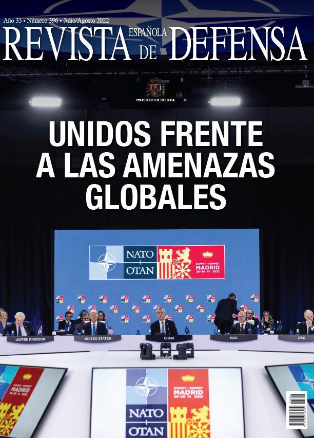 Cubierta de Revista Española de Defensa