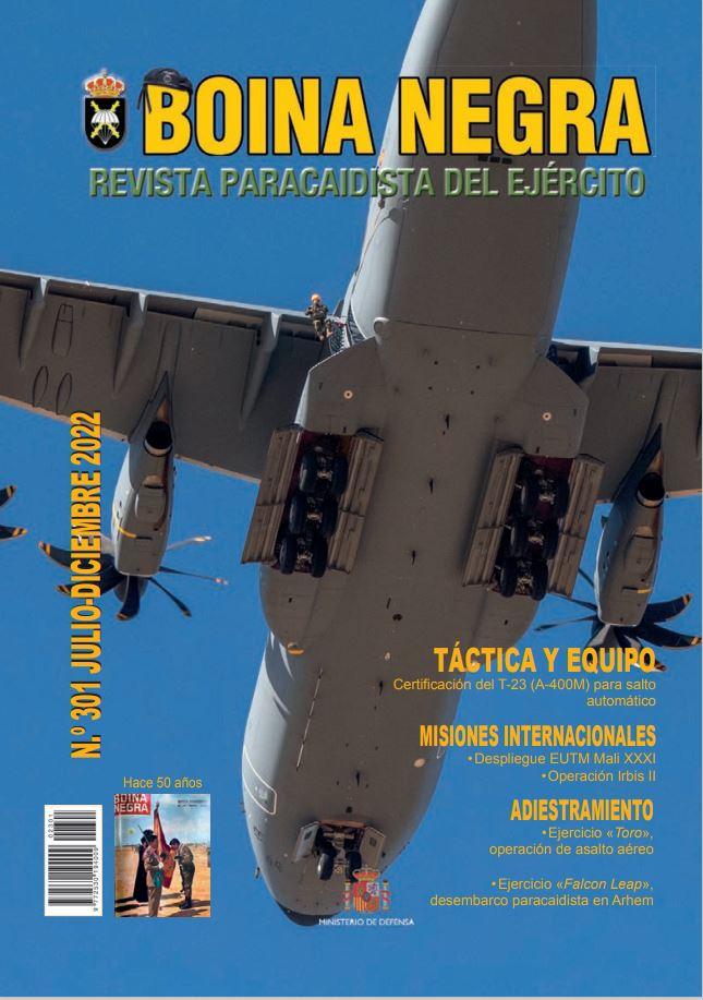 Cubierta de Boina Negra : Revista Paracaidista del Ejército