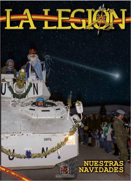 Cubierta de La Legión : Revista de Tercios y Apoyos