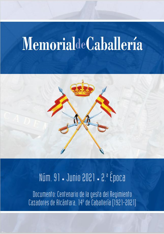 Cubierta de Memorial de Caballería