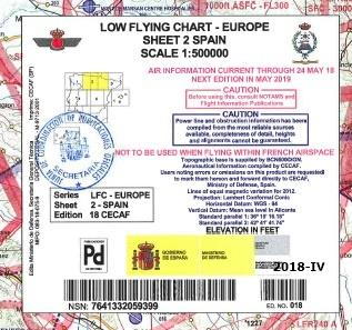 Cubierta de Sheet 2 Spain (Low flying chart - Europe)