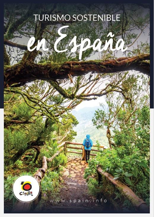 Cubierta de Turismo sostenible en España (Información turística)