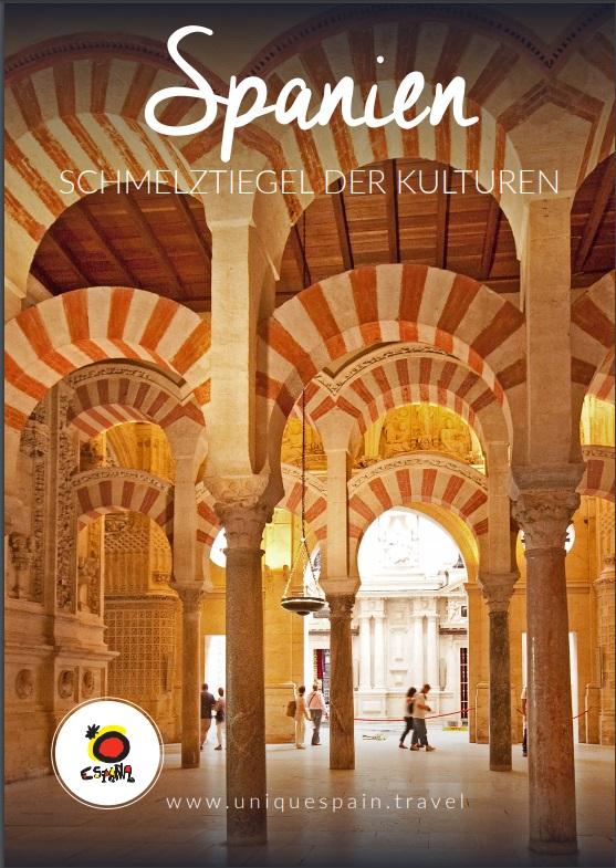 Cubierta de Spanien schmelztiegel der kulture (Información turística)