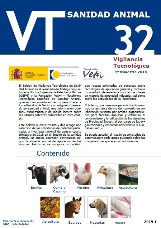 Cubierta de Boletín VT. Sanidad Animal