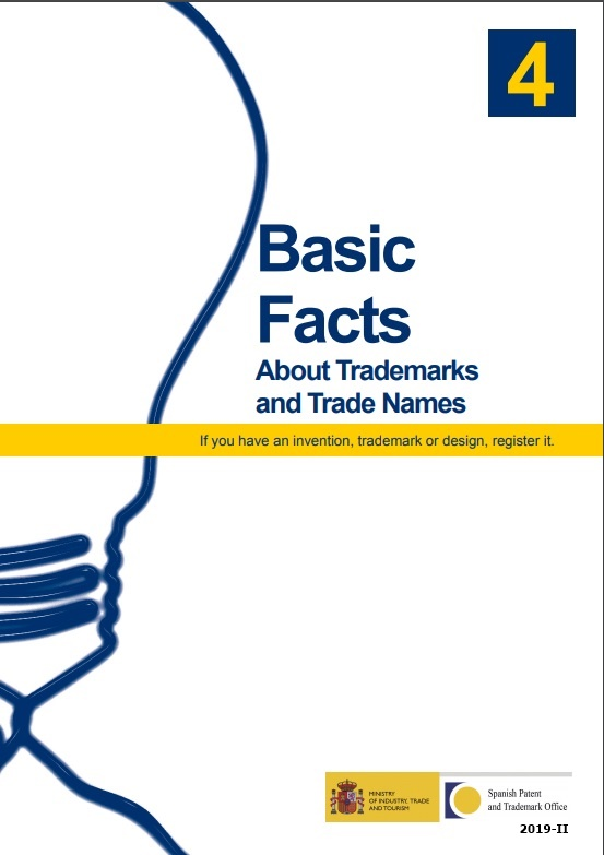 Cubierta de Basic facts about trademarks and trade names