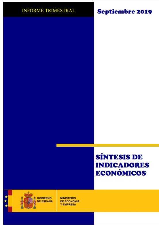 Cubierta de Síntesis de Indicadores Económicos. Informe Trimestral