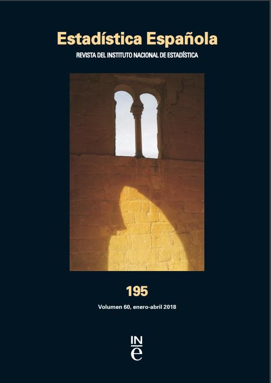 Cubierta de Estadística Española : Revista del Instituto Nacional de Estadística