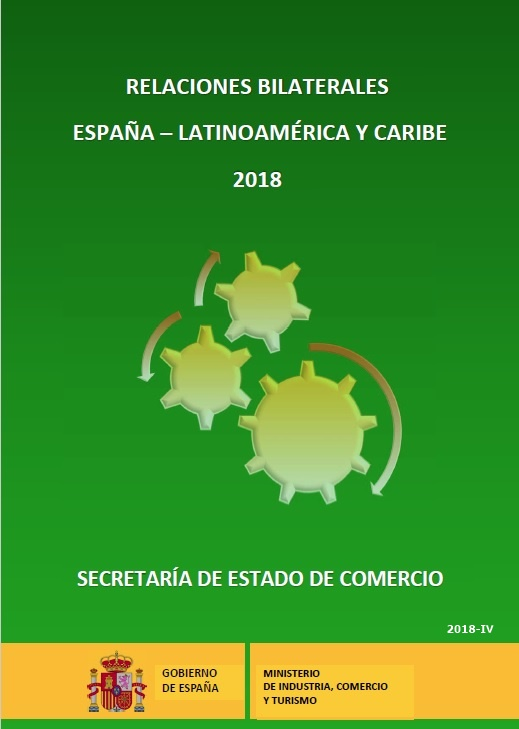 Cubierta de Relaciones Bilaterales España-Latinoamérica y Caribe