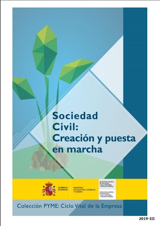 Cubierta de Sociedad civil, creación y puesta en marcha