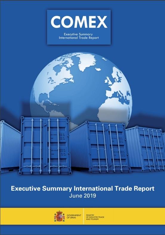 Cubierta de Executive Summary International Trade Report