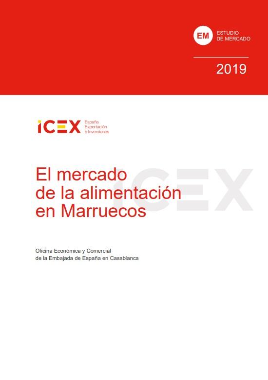 Cubierta de El mercado de la alimentación en Marruecos 2019 (Estudios de mercado)