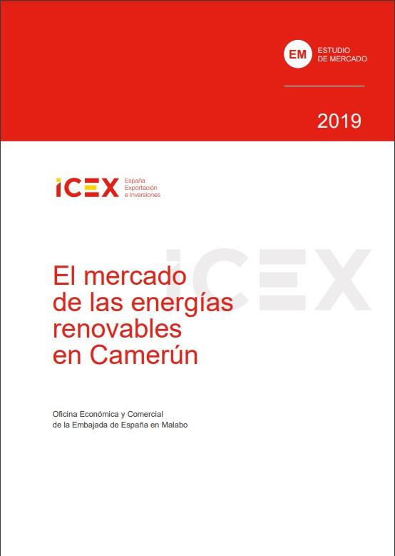 Cubierta de El mercado de las energías renovables en Camerún 2019 (Estudios de mercado)