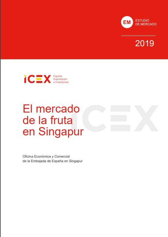 Cubierta de El mercado de la fruta en Singapur 2019 (Estudios de mercado)