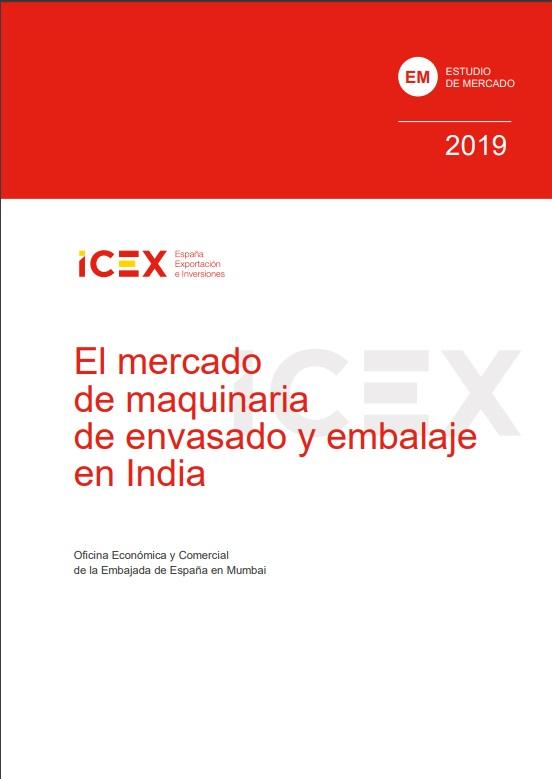 Cubierta de El mercado de maquinaria de envasado y embalaje en India 2019 (Estudios de mercado)