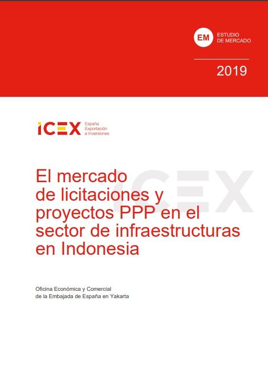 Cubierta de El mercado de licitaciones y proyectos PPP de infraestructuras en Indonesia 2019 (Estudios de mercado)