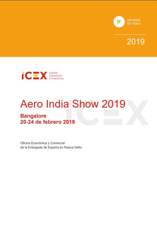 Cubierta de Aero India Show: Bangalore : 20-24 febrero 2019 (Informes de Feria)