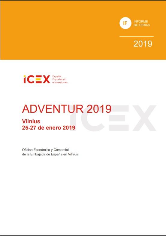 Cubierta de Adventur: Vilnius : 25-27 enero 2019 (Informes de Feria)
