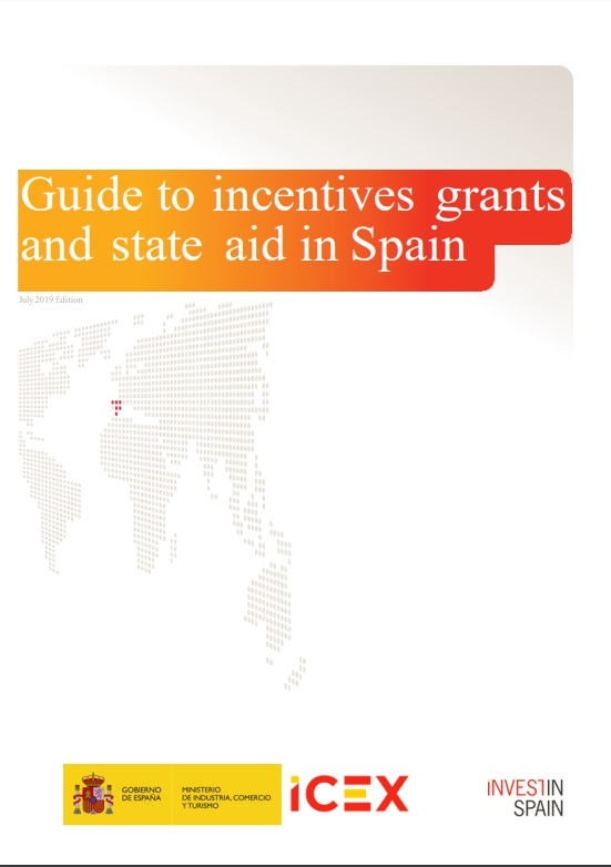 Cubierta de Guide to incentives grants and state aid in Spain