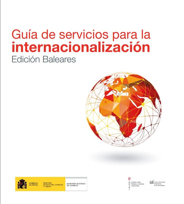 Cubierta de Guía Servicios para la Internacionalización. Comunidades Autónomas