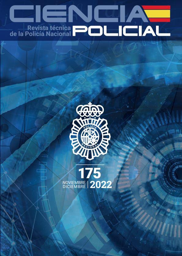 Cubierta de Ciencia Policial : Revista Técnica del Cuerpo Nacional de Policía