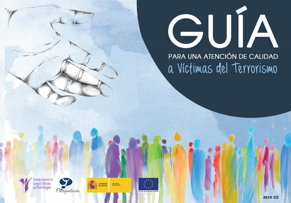 Cubierta de Guía para una atención de calidad a víctimas del terrorismo