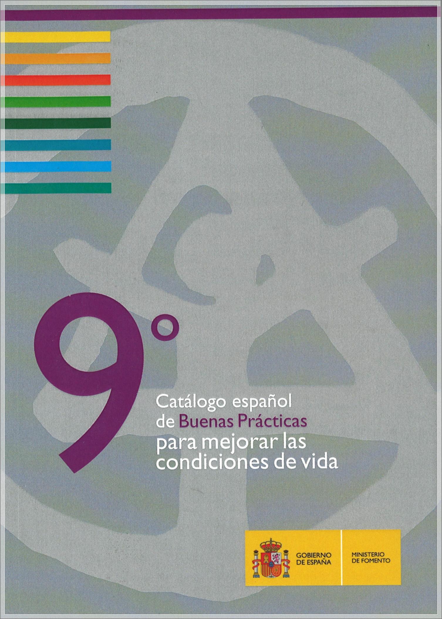 Cubierta de 9º Concurso de Naciones Unidas sobre Buenas Prácticas para Mejorar las Condiciones de Vida: Dubai 2012