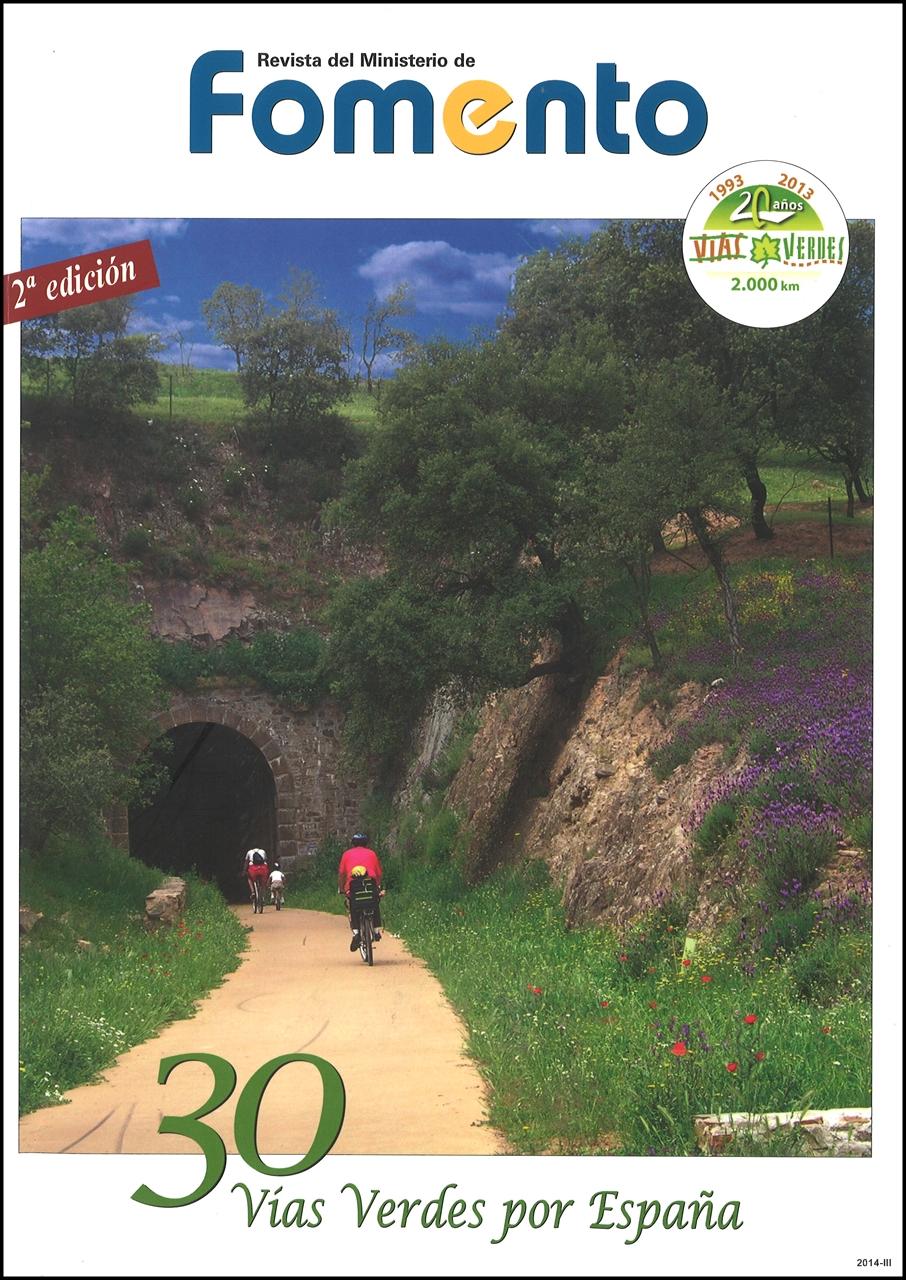 Cubierta de 30 vías verdes por España
